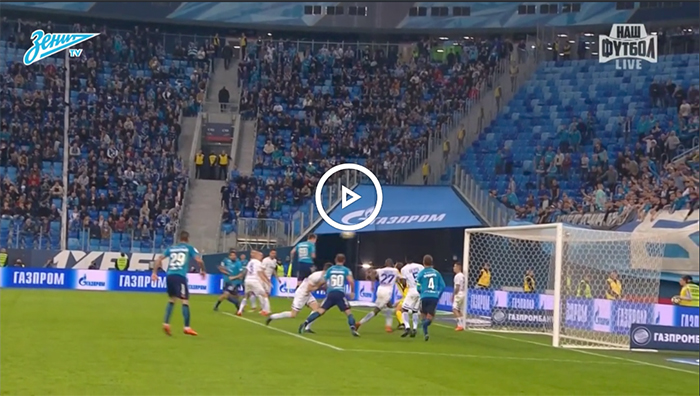 Highlights of Zenit v Dynamo Moscow