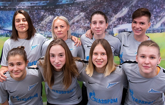 Meet the First Signings of the Zenit Women's Team