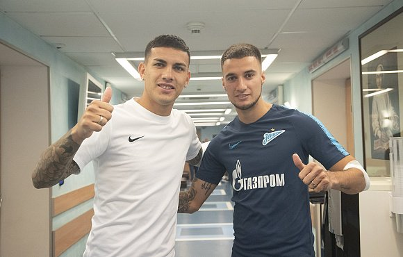 Zenit Players Back in St. Petersburg
