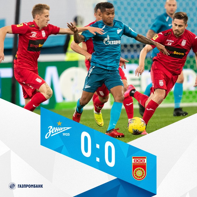 Zenit 0-0 Ufa: Match Report